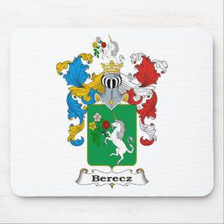 Escudo de armas del húngaro de la familia de Berec Alfombrillas De Ratones