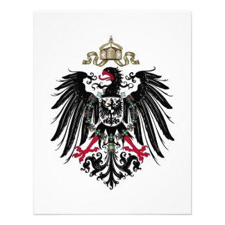 Escudo de armas del imperio alemán 1889-1918 invitaciones personalizada