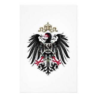 Escudo de armas del imperio alemán 1889-1918 papeleria de diseño