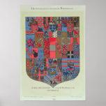 Escudo de armas del imperio austrohúngaro poster