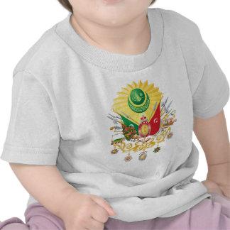Escudo de armas del imperio otomano camiseta