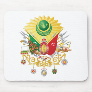 Escudo de armas del imperio otomano tapete de raton
