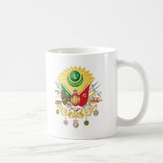 Escudo de armas del imperio otomano tazas