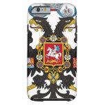 Escudo de armas del imperio ruso funda de iPhone 6 tough