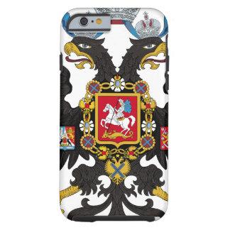 Escudo de armas del imperio ruso funda para iPhone 6 tough