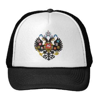Escudo de armas del imperio ruso gorro de camionero