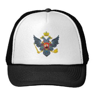 Escudo de armas del imperio ruso gorros bordados