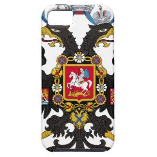 Escudo de armas del imperio ruso iPhone 5 funda