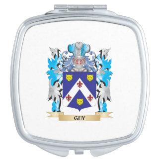 Escudo de armas del individuo - escudo de la espejos para el bolso