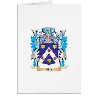 Escudo de armas del individuo - escudo de la tarjeta de felicitación