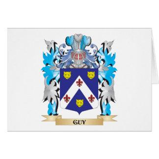 Escudo de armas del individuo - escudo de la tarjeta pequeña