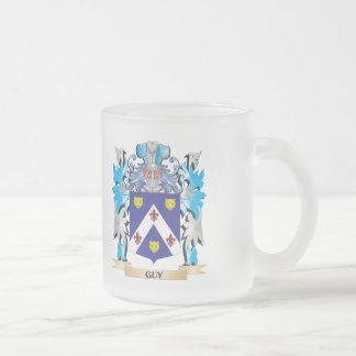 Escudo de armas del individuo - escudo de la taza cristal mate