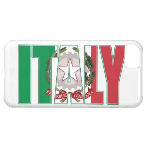 Escudo de armas del italiano de la bandera de Ital