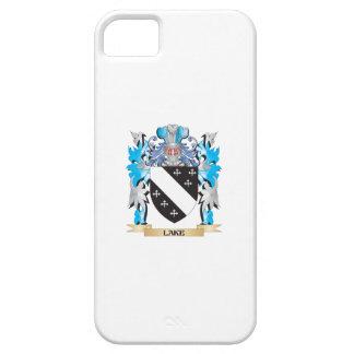 Escudo de armas del lago - escudo de la familia iPhone 5 carcasa