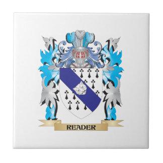 Escudo de armas del lector - escudo de la familia azulejos cerámicos