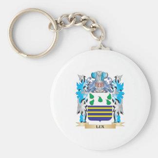 Escudo de armas del lux - escudo de la familia llavero personalizado
