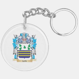 Escudo de armas del lux - escudo de la familia llaveros