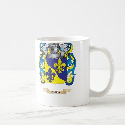 Escudo de armas del mandingo (escudo de la familia tazas de café
