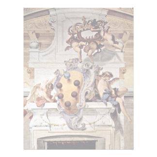 Escudo de armas del Medici., por Ricci Sebastiano Membrete Personalizado
