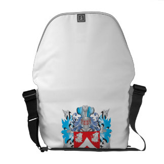Escudo de armas del monje - escudo de la familia bolsas de mensajería