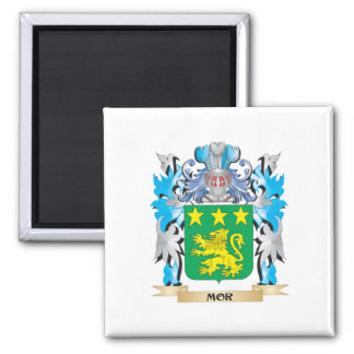 Escudo de armas del MOR - escudo de la familia Imán Para Frigorífico