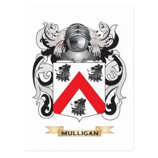 Escudo de armas del Mulligan (escudo de la Tarjeta Postal