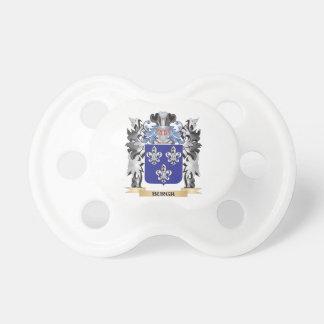Escudo de armas del municipio escocés - escudo de chupete de bebe