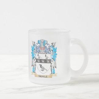 Escudo de armas del níquel - escudo de la familia tazas de café