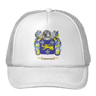 Escudo de armas del norte (escudo de la familia) gorro de camionero