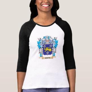 Escudo de armas del norte - escudo de la familia camisetas