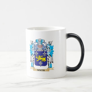 Escudo de armas del norte - escudo de la familia tazas de café