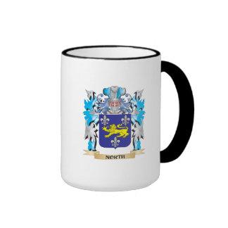 Escudo de armas del norte - escudo de la familia tazas