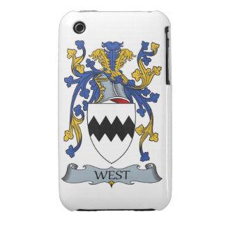 escudo de armas del oeste funda para iPhone 3 de Case-Mate