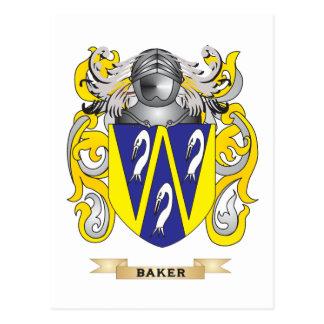 Escudo de armas del panadero (escudo de la postales