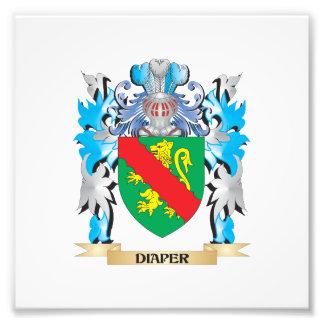 Escudo de armas del pañal - escudo de la familia
