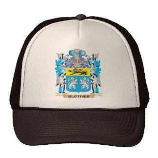 Escudo de armas del panero - escudo de la familia gorras