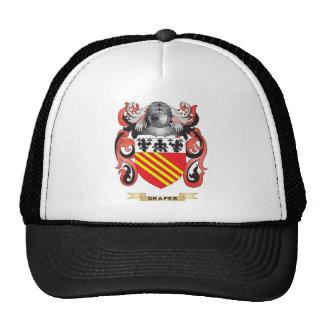 Escudo de armas del pañero gorro de camionero