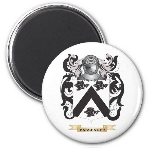 Escudo de armas del pasajero (escudo de la familia imán para frigorifico