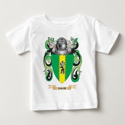 Escudo de armas del pelo (escudo de la familia) t-shirt