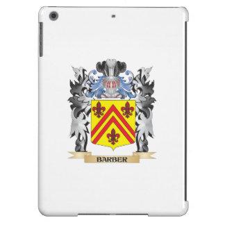 Escudo de armas del peluquero - escudo de la funda para iPad air
