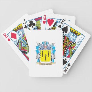 Escudo de armas del peregrino - escudo de la cartas de juego