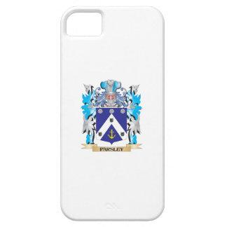 Escudo de armas del perejil - escudo de la familia iPhone 5 Case-Mate protectores