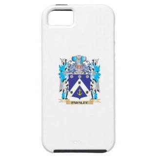 Escudo de armas del perejil - escudo de la familia iPhone 5 Case-Mate coberturas