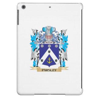 Escudo de armas del perejil - escudo de la familia