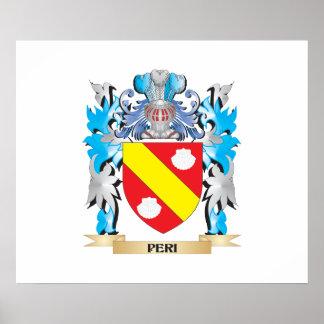 Escudo de armas del Peri - escudo de la familia Posters