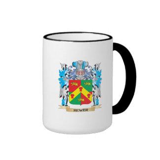 Escudo de armas del picapedrero - escudo de la taza a dos colores