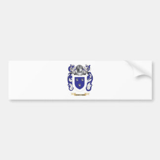 Escudo de armas del pollo pegatina de parachoque