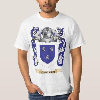 Escudo de armas del pollo camisas