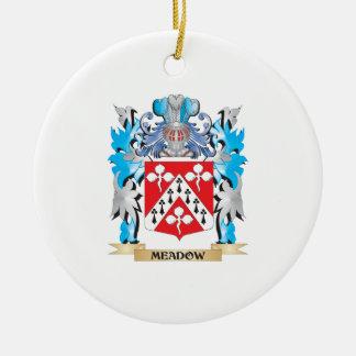 Escudo de armas del prado - escudo de la familia ornamentos de reyes