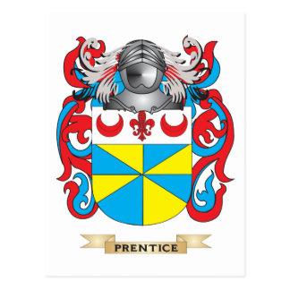 Escudo de armas del Prentice (escudo de la familia Postales
